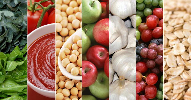 Sete alimentos benéficos à saúde