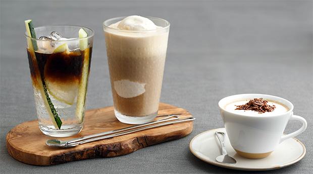 Aprenda a preparar três drinques com café