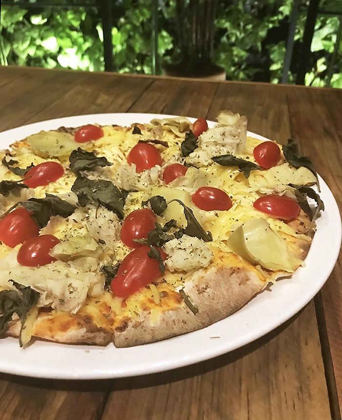 Villa Roma tem pizzas finíssimas e opções veganas