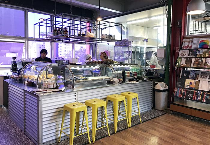 cafeteria do Petí Panamericana