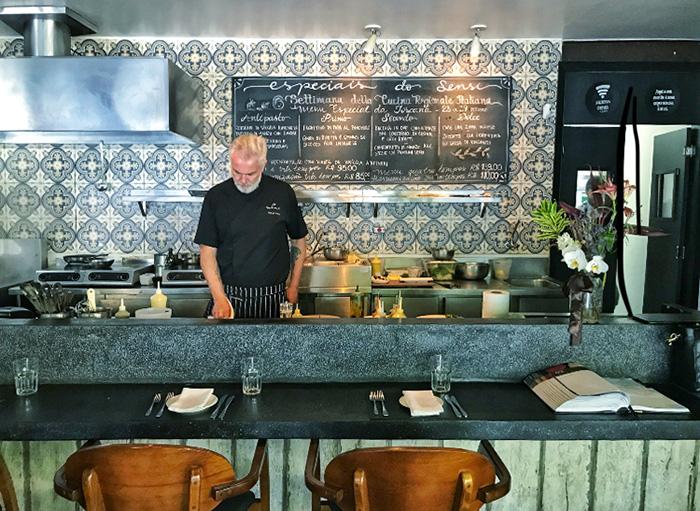 Chef Manuel Coelho do Sensi