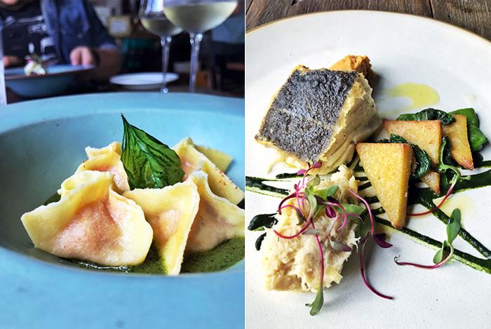 Pratos do menu da Settimana della Cucina Italiana no Sensi Gastronomia