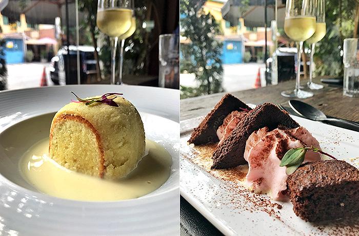 Sobremesas do menu da Settimana della Cucina Italiana no Sensi Gastronomia