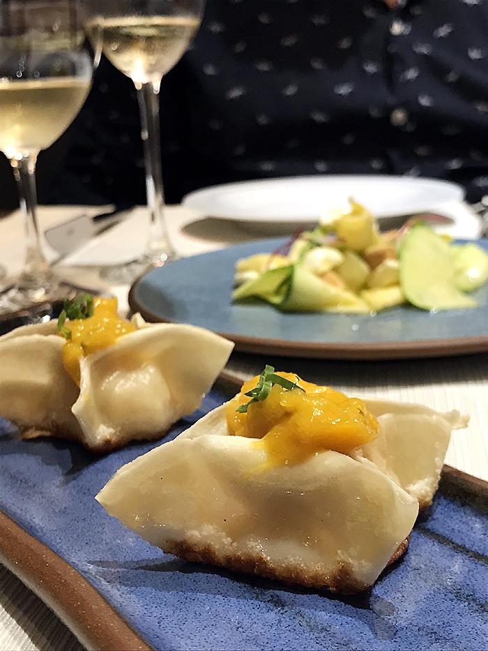 dumpling de camarão